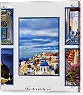 The Greek Isles Acrylic Print