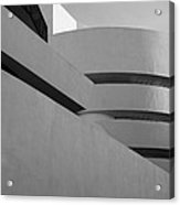 The Guggenheim In Black And White Acrylic Print