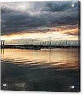 The Harbour Lights Acrylic Print