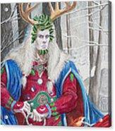 The Holly King Acrylic Print