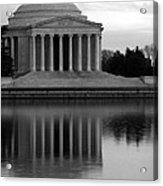 The Jefferson Memorial Acrylic Print by Cora Wandel