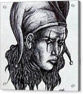 The Jester Acrylic Print