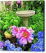 The Magic Garden Acrylic Print