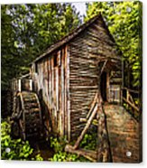 The Mill At Cades Cove Acrylic Print