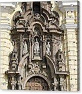 The Monastery Of San Francisco - Lima Peru Acrylic Print