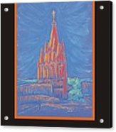 The Parroquia Acrylic Print by Marcia Meade