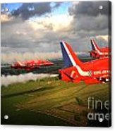 The Red Arrows  Acrylic Print