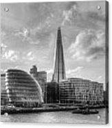 The Shard and City Hall Acrylic Print