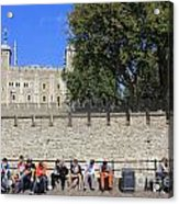 The Tower Of London Acrylic Print