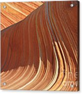The Wave In The North Coyote Buttes Acrylic Print