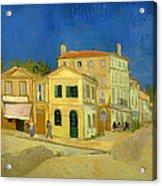 The Yellow House Acrylic Print