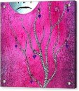 The Zebra Effect 3 Acrylic Print by Oddball Art Co by Lizzy Love