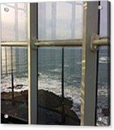 Through Lighthouse Window  Acrylic Print