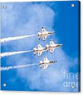 Thunderbirds In Formation  Acrylic Print