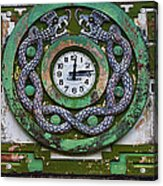 Time Acrylic Print by Skip Hunt