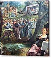Tintoretto's The Worship Of The Golden Calf Acrylic Print