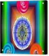 Divine Wealth Acrylic Print