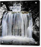 2 Tone Waterfall Acrylic Print