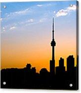 Toronto Skyline Acrylic Print