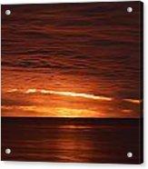 Torrey Pines Sunset Acrylic Print