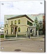 Touro Synagogue In Newport Rhode Island Acrylic Print