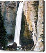 Tower Falls Yellowstone National Park Acrylic Print