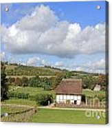 Traditional Cottage Sussex Uk Acrylic Print