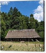 Traditional Polish Cottage House Acrylic Print