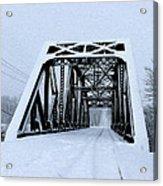 Train Bridge Acrylic Print