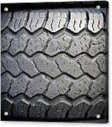 Tyre Tread Acrylic Print