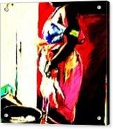 Ugunda Fish Lady Acrylic Print