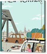 New Yorker July 26th, 2010 Acrylic Print