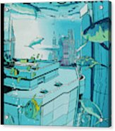 New Yorker April 25th, 2005 Acrylic Print