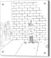 New Yorker November 7th, 2005 Acrylic Print