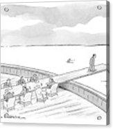 New Yorker January 21st, 2008 Acrylic Print