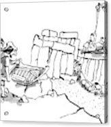 New Yorker February 23rd, 2009 Acrylic Print