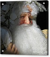 Upscale Father Christmas Acrylic Print