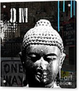 Urban Buddha  Acrylic Print