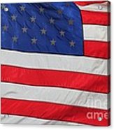 Us Flag On Memorial Day Acrylic Print by Robert D  Brozek