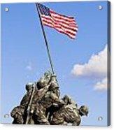 Us Marine Corps Memorial Acrylic Print
