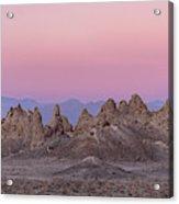 Usa, California Composite Panoramic Acrylic Print
