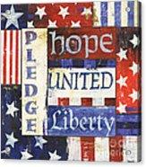 Usa Pride 1 Acrylic Print