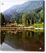 Vail Reflections Acrylic Print