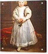 Van Dyck's Maddalena Cattaneo Acrylic Print