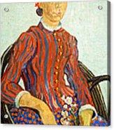Van Gogh's La Mousme Acrylic Print