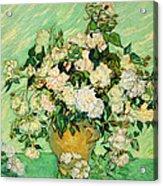 Van Gogh's Roses Acrylic Print