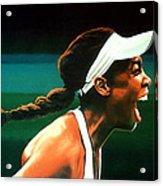 Venus Williams Acrylic Print