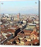 View Of Turin Acrylic Print