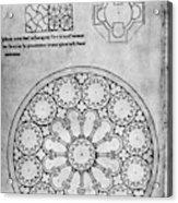 Villard De Honnecourt (c1225-1250) Acrylic Print