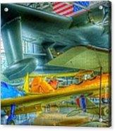 Vintage Airplanes Acrylic Print